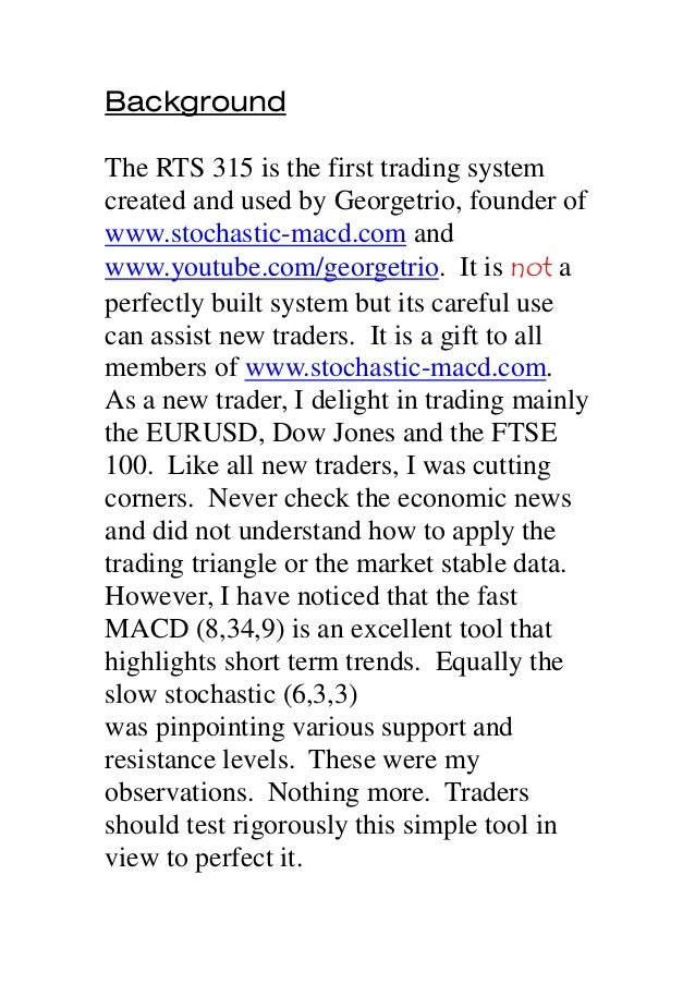 315 trading system