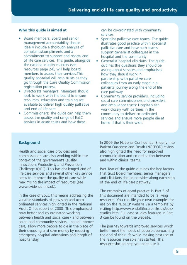 care after death guidance for care This guide is intended as a guide for training, as well as for informing the development of organisational protocols for this area of care.
