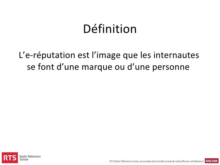 E r putation monitoring gestion de crise et engagement for Portent definition