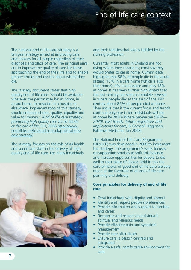 liverpool care pathway essay Reflection, liverpool care pathway essay i am a rehab support worker at level three of the skills for health (2009) framework, within a multidisciplinary.