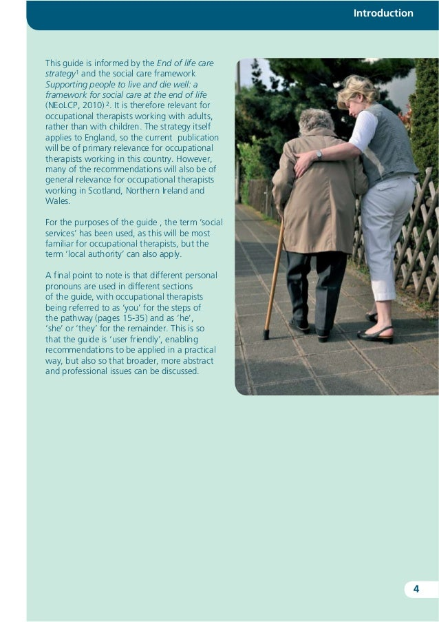 occupational therapists and local authorities health and social care essay Occupational therapists working in social housing save money  and the local authority had recommended significant and costly adaptions to their home  occupational therapy and mental health .