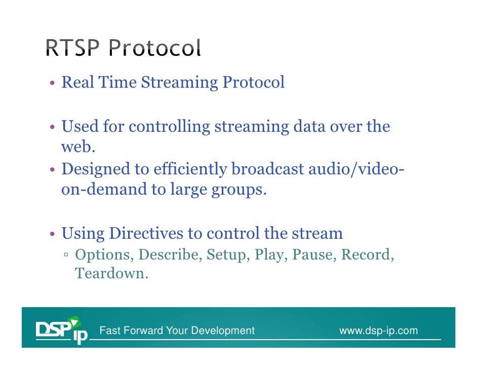 RTSP Analysis Wireshark Slide 2