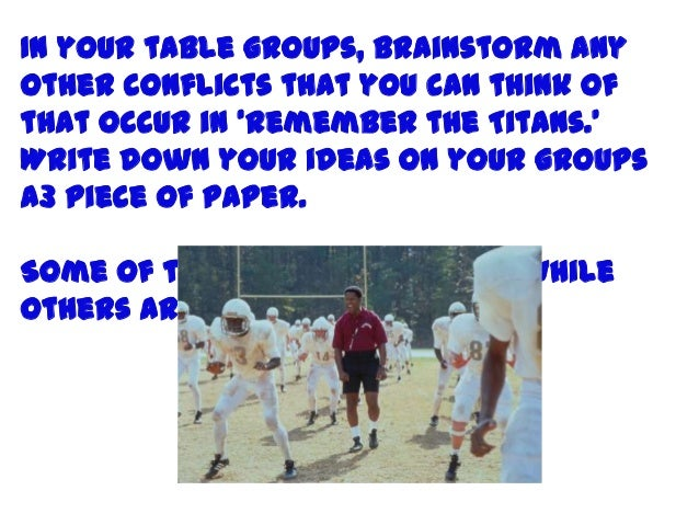 remember the titans summary essay remember the titans leadership essay buying dissertations online nmc community chapter toastmasters good remember the titans