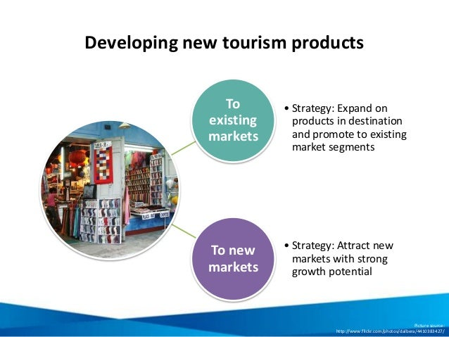 Developing new tourism products To existing markets • Strategy: Expand on products in destination and promote to existing ...