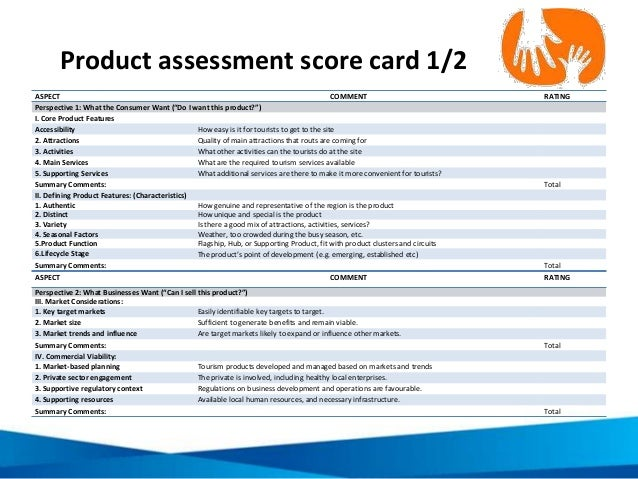 """ASPECT COMMENT RATING Perspective 1: What the Consumer Want (""""Do I want this product?"""") I. Core Product Features Accessibi..."""