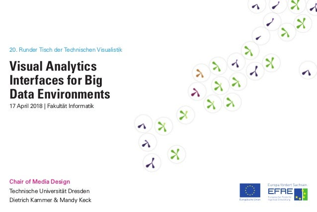 20. Runder Tisch der Technischen Visualistik Visual Analytics Interfaces for Big Data Environments 17 April 2018 | Fakultä...