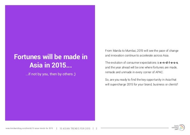 Fortunes will be made in  Asia in 2015...  ...if not by you, then by others ;)  From Manila to Mumbai, 2015 will see the p...