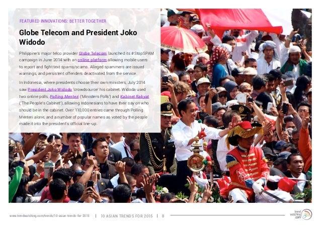FEATURED INNOVATIONS: BETTER TOGETHER  Globe Telecom and President Joko  Widodo  Philippine's major telco provider Globe T...