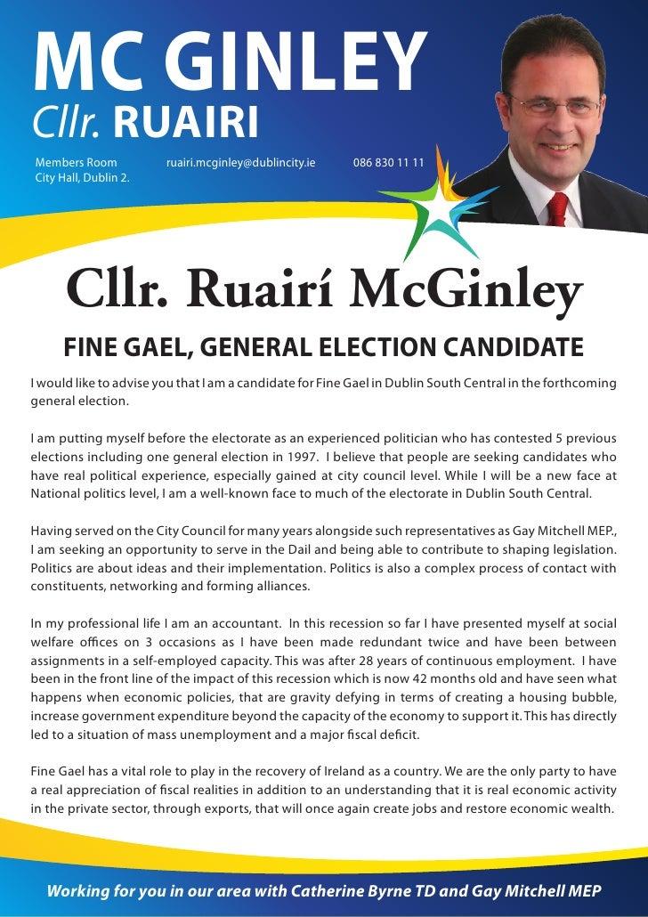 MC GINLEYCllr. RUAIRIMembers Room            ruairi.mcginley@dublincity.ie    086 830 11 11City Hall, Dublin 2.      Cllr....