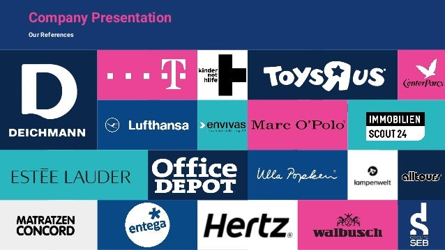 Company Presentation Our References