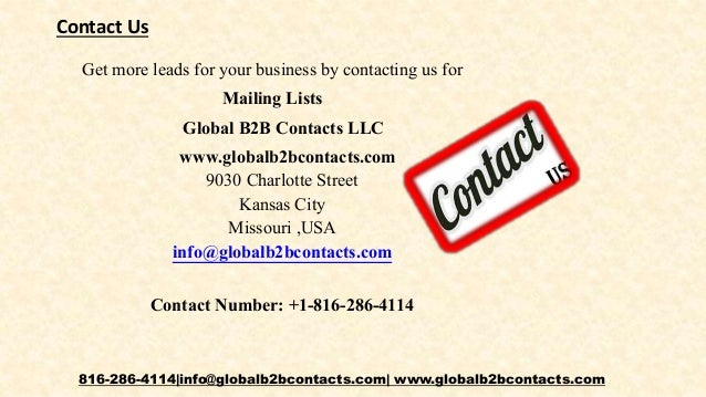 Rubber and plastic product manufacturers email list