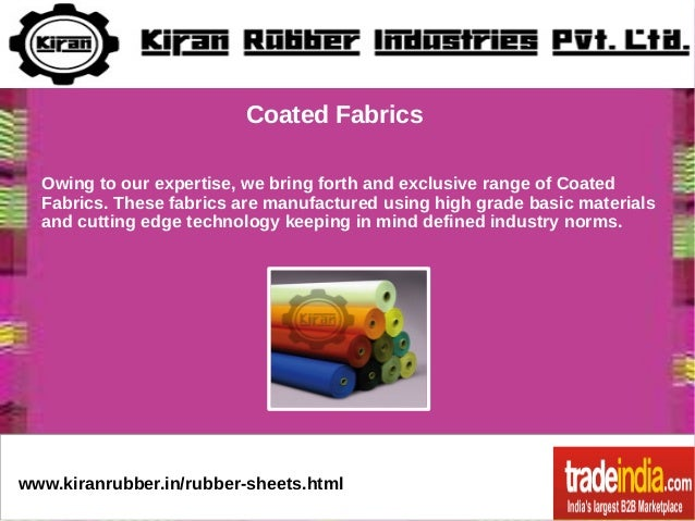 Silicone Rubber Sheets Exporter Manufacturer Kiran