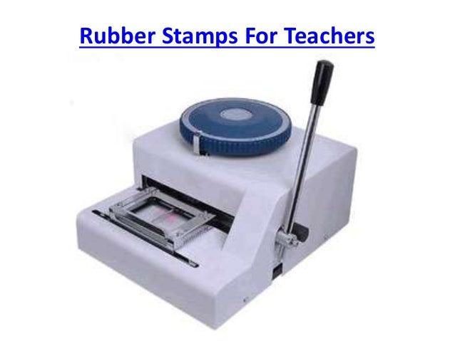 Rubber Stamps For Teachers Slide 2