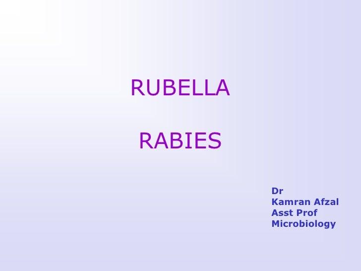 RUBELLARABIES          Dr          Kamran Afzal          Asst Prof          Microbiology