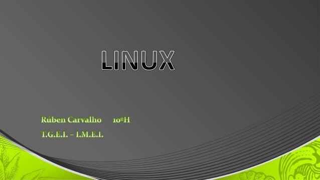 • KDE – o Gestor de Janelas • XFree86 ou X.org – o Servidor de X Windows