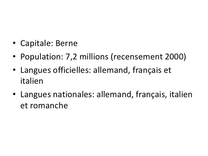 Les cantons de Fribourg, du Valais et de Berne sont les trois cantons officiellement bilingues de la  Confédération. Les l...