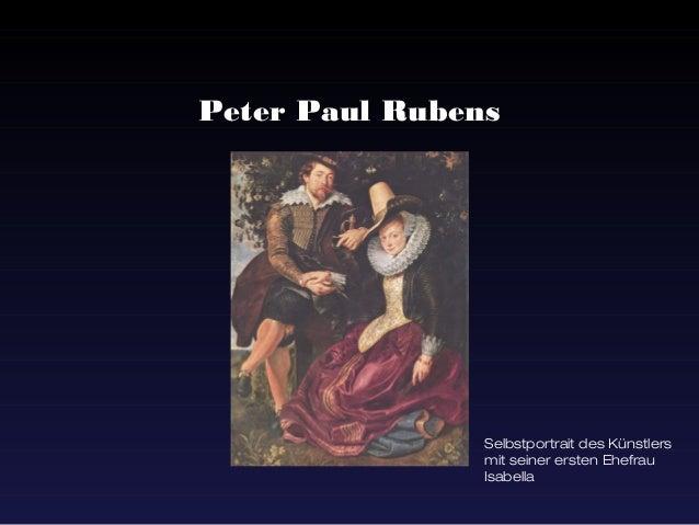 Peter Paul Rubens                Selbstportrait des Künstlers                mit seiner ersten Ehefrau                Isab...