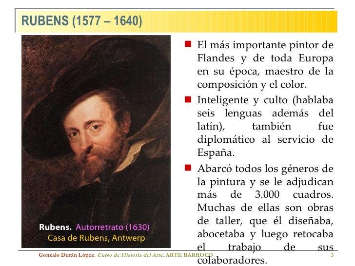 Rubens y Rembrandt Slide 3
