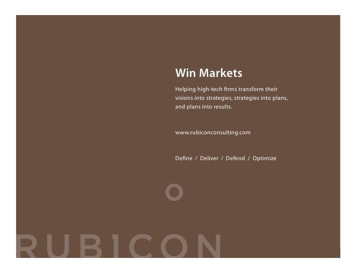 Win Markets                                     Helping high-tech firms transform their                                    ...