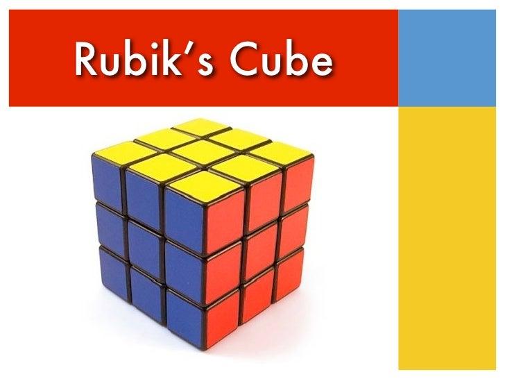 Rubiks Cube Presentation