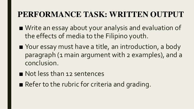 Top English Essays  Essay Paper Checker also Essay Proposal Template Information Literacy In The Philippines Essay Example Of English Essay