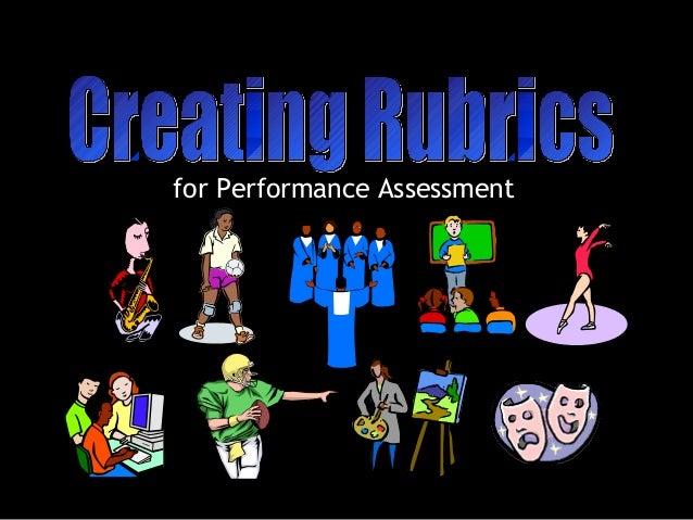 for Performance Assessment