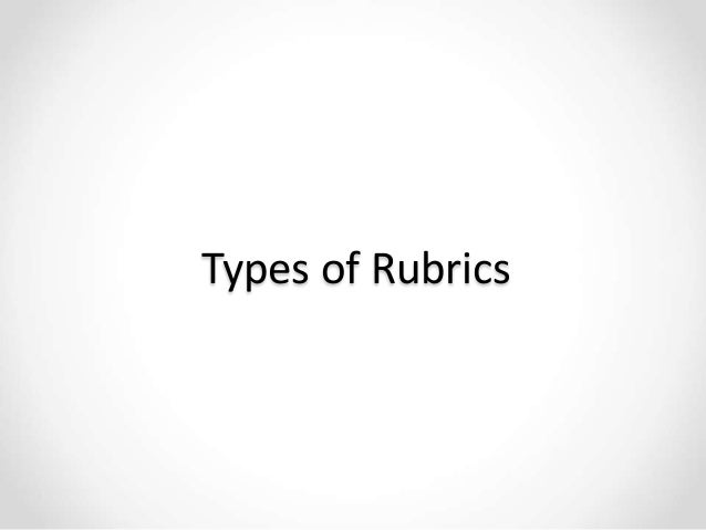 Rubrics: Transparent Assessment in Support of Learning