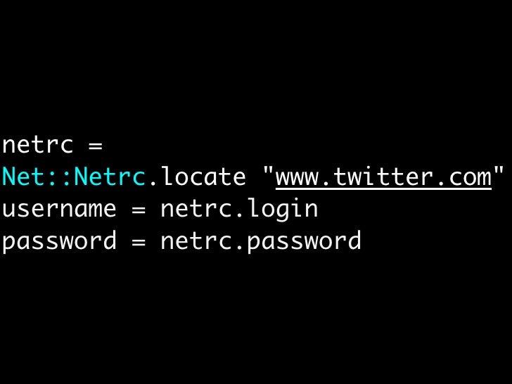/.netrc のパーミッション