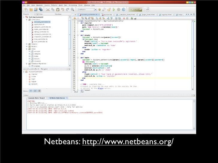Netbeans: http://www.netbeans.org/