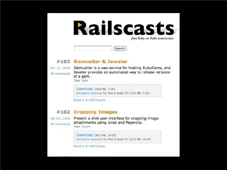 Ruby and Rails Basics