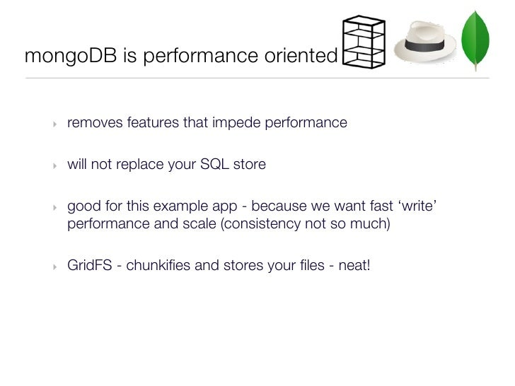 mongodb write performance Mongodb, as some of you may know, has a process-wide write lock this has caused some degree of ridicule from database purists when they discover such a.