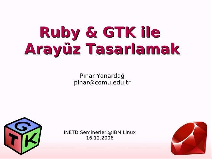 Pınar Yanardağ         [email_address]                             INETD Semine...