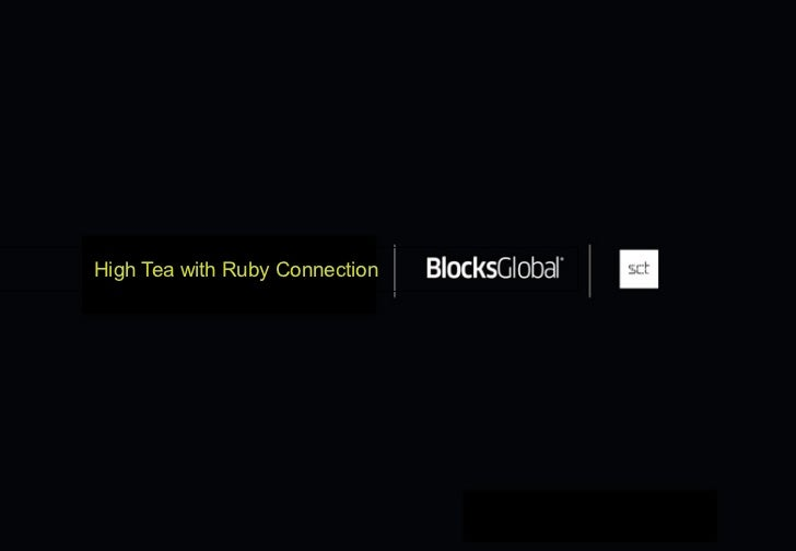 High Tea with Ruby Connection