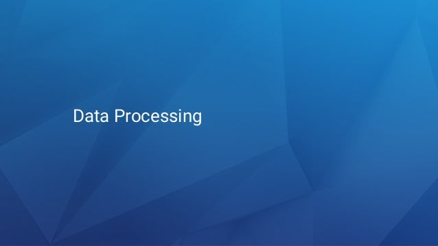 "Data ""Processing"" ? 1. COLLECT 2. SUMMARIZE 3. ANALYZE 4. VISUALIZE"