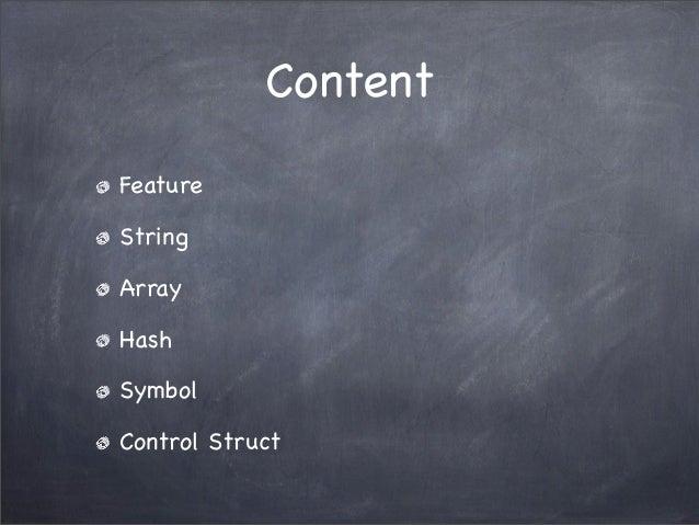 Ruby basic Slide 2