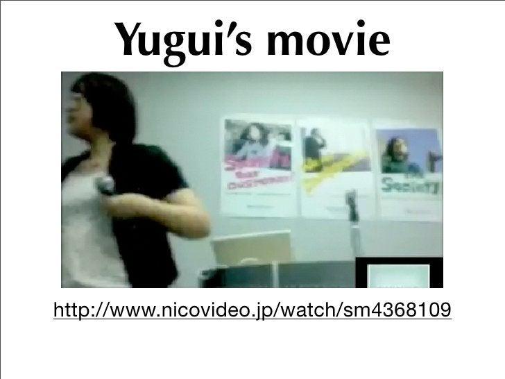 Yugui's works