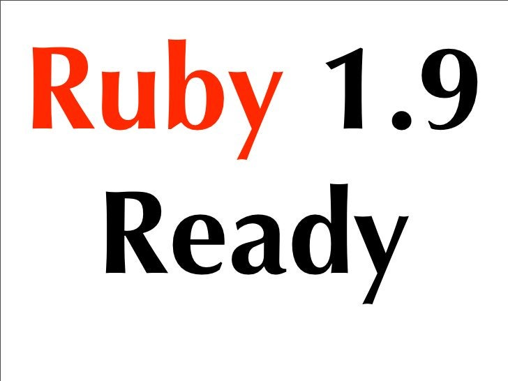 the 2nd Rubyist