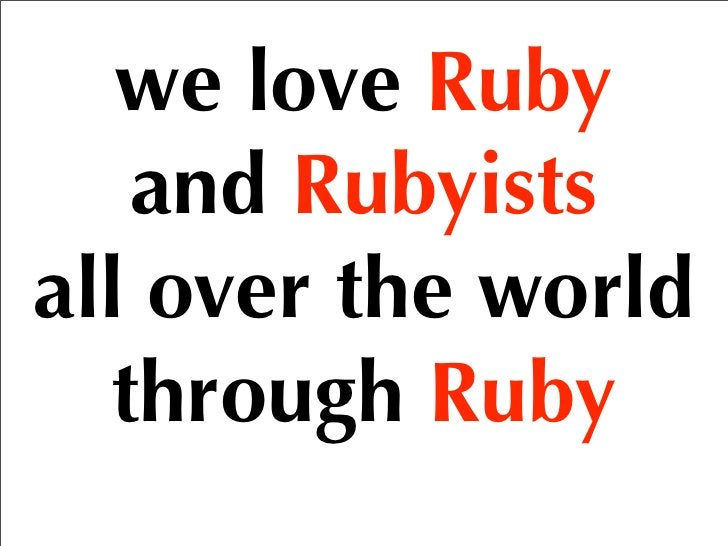 Japanese Rubyists you have not met yet