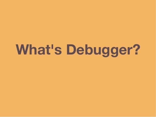 Writing Mruby Debugger