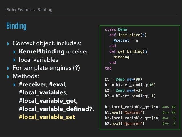 Binding creates new object per call