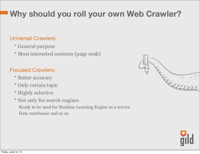 Roll Your Own Web Crawler. RubyDay 2013