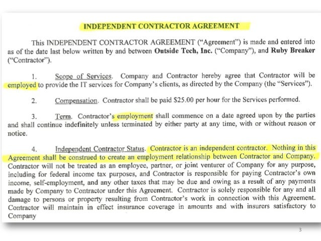 Best Independent Agreement Contract Photos - Best Resume Examples