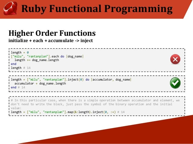 Ruby Functional Programming