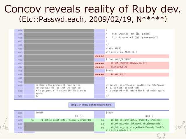 An introduction and future of Ruby coverage library