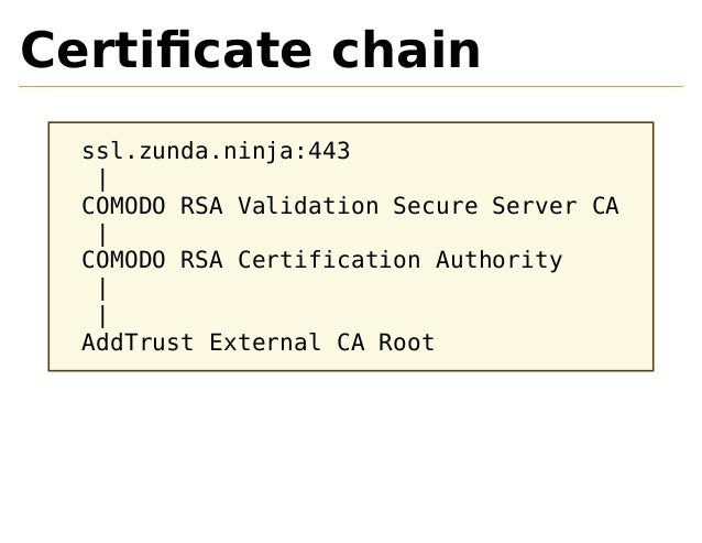 Do You Trust That Certificate