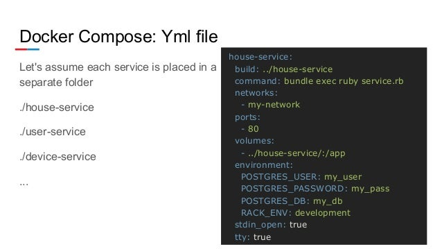 Ruby microservices with Docker - Sergii Koba