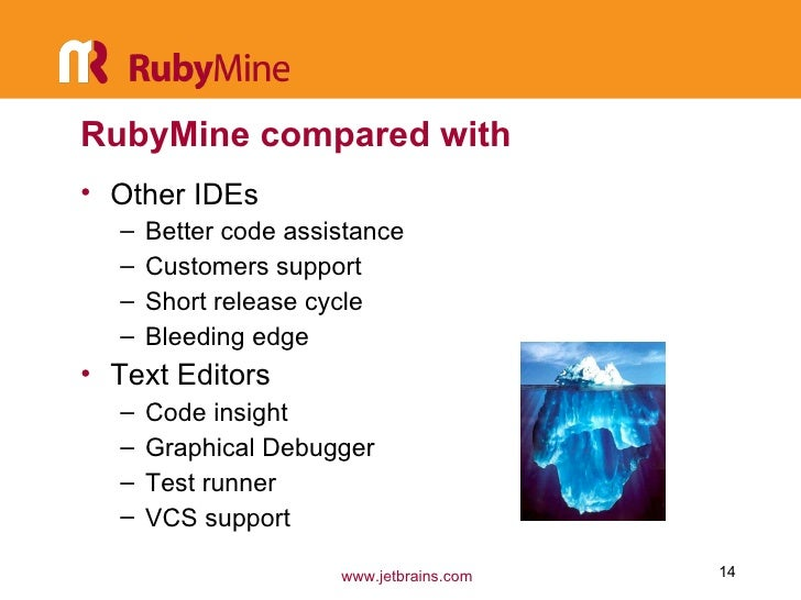 Productive Rails development with RubyMine