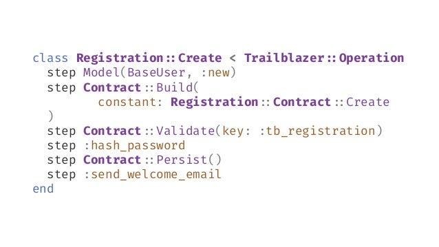 Attributes module Registration#:Contract class Create < Reform#:Form property :email property :email_confirmation, virtual...
