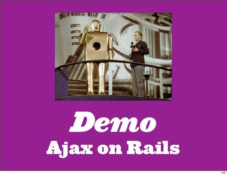 Demo Ajax on Rails                 139