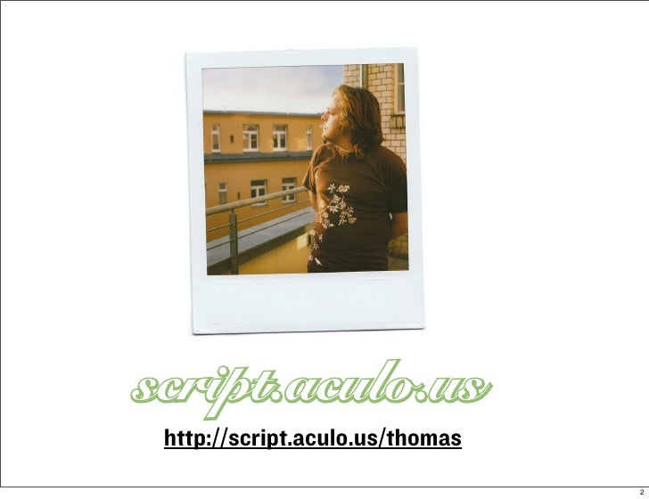 http://script.aculo.us/thomas                                 2